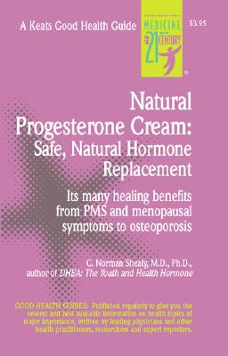 Natural Progesterone Cream By Shealy, C. Norman